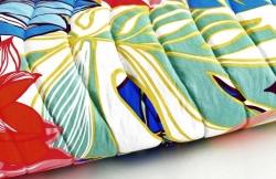 """Набор """"Папоротник"""" одеяло и постельное белье бязь"""