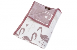 Покрывало-плед Kassandra Flamingo taupe
